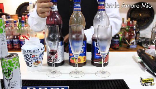 Drinks com Xarope FABBRI