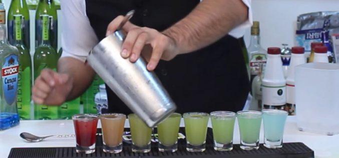 Rainbow Shots Bartender Store