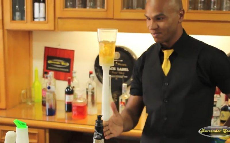 ed58b5e67 Curso de Working Flair com o Bartender Gell – Bartender Store